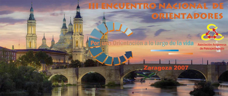2007 III Encuentro Orientadores Zaragoza