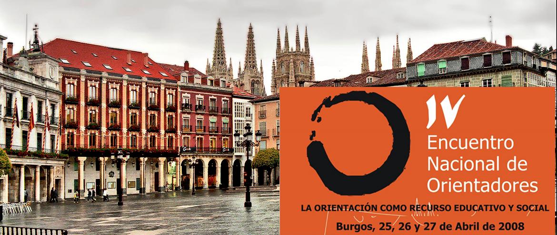 2008 IV Encuentro Orientadores Burgos