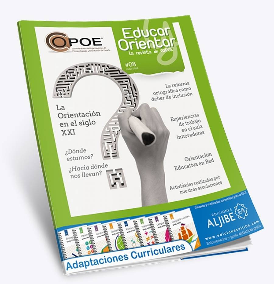 "Disponible el nº 8 de la revista de COPOE ""Educar y Orientar"""