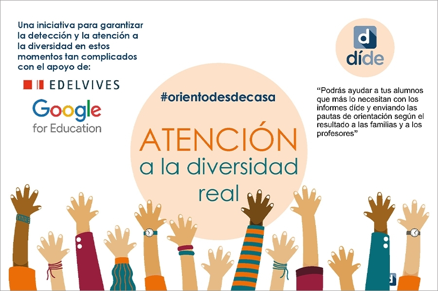 Orientar desde casa con la iniciativa de díde, Edelvives & Google for education